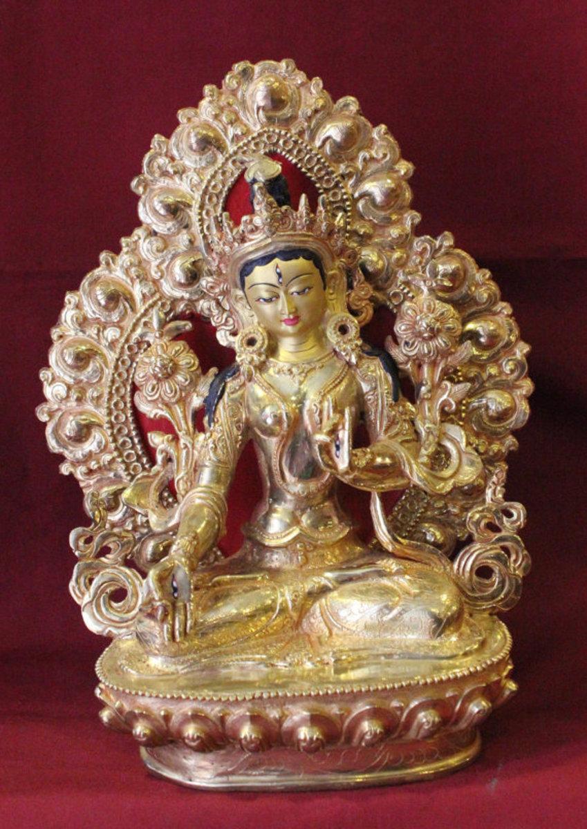 White Tara - Consort of Vairochana Dhyani Buddha