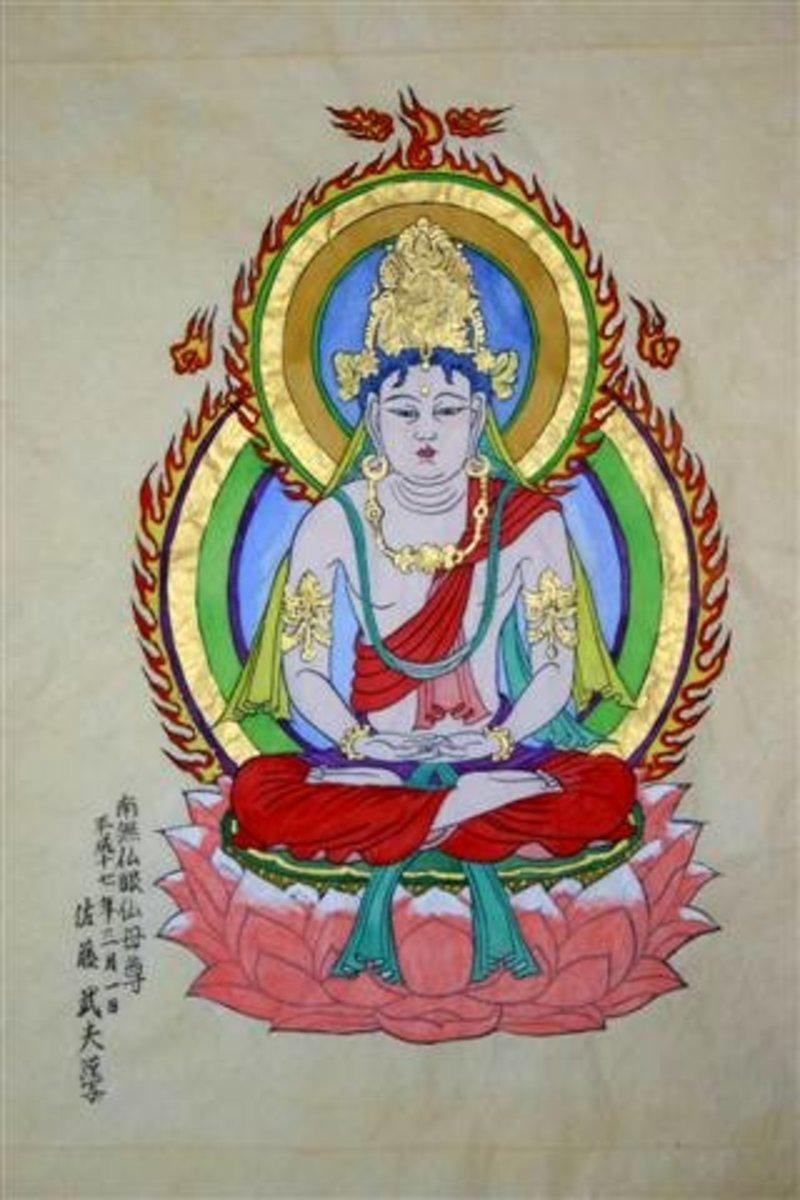 Locani Buddha - Consort of Akshobhya