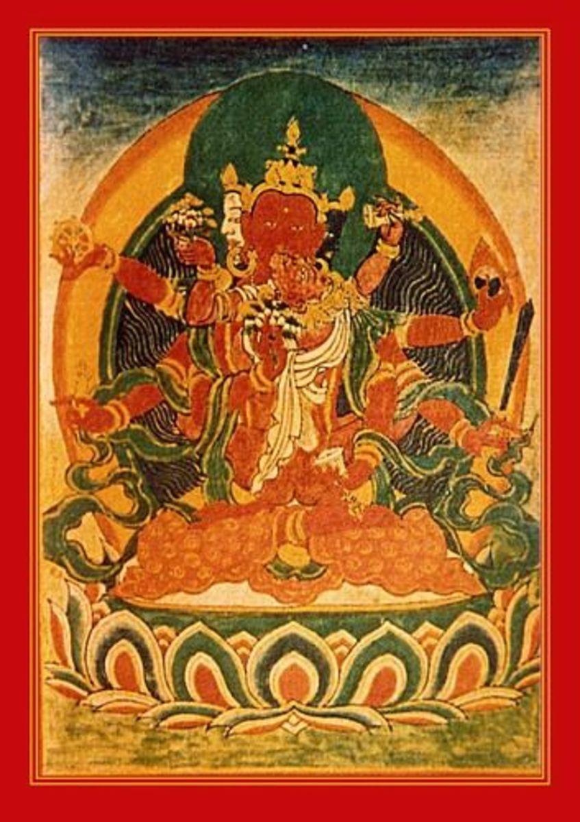 Pandaravasini - Consort of Amitabha Buddha