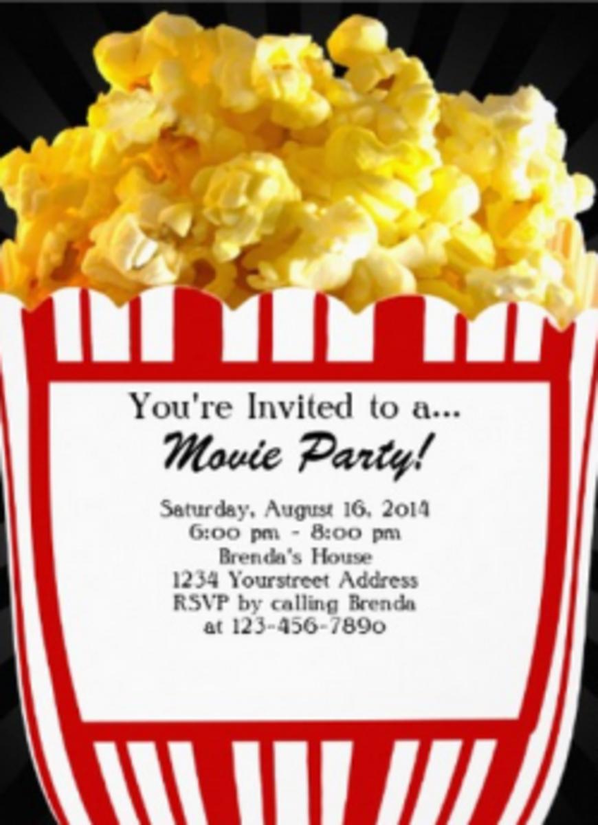 movie-birthday-party