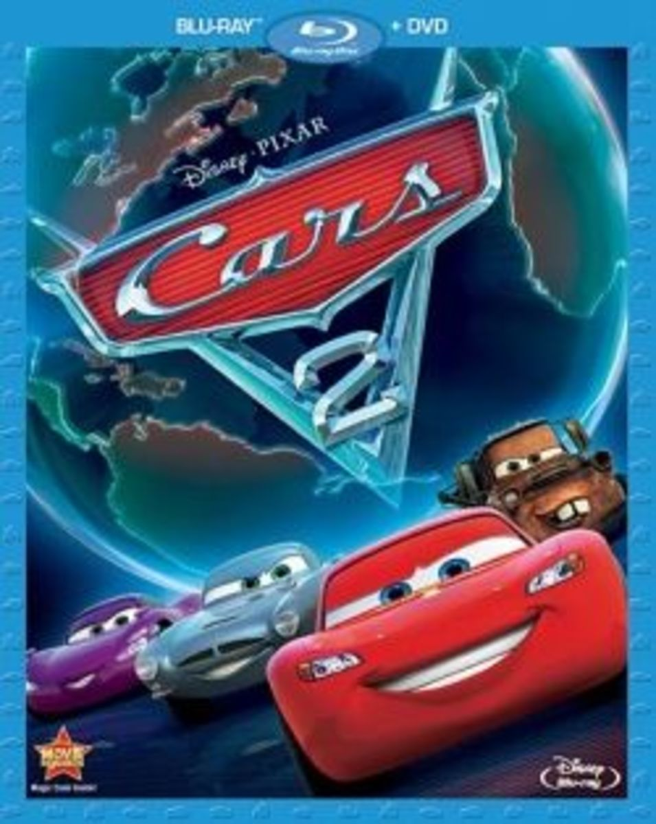 Cars on Blu-ray