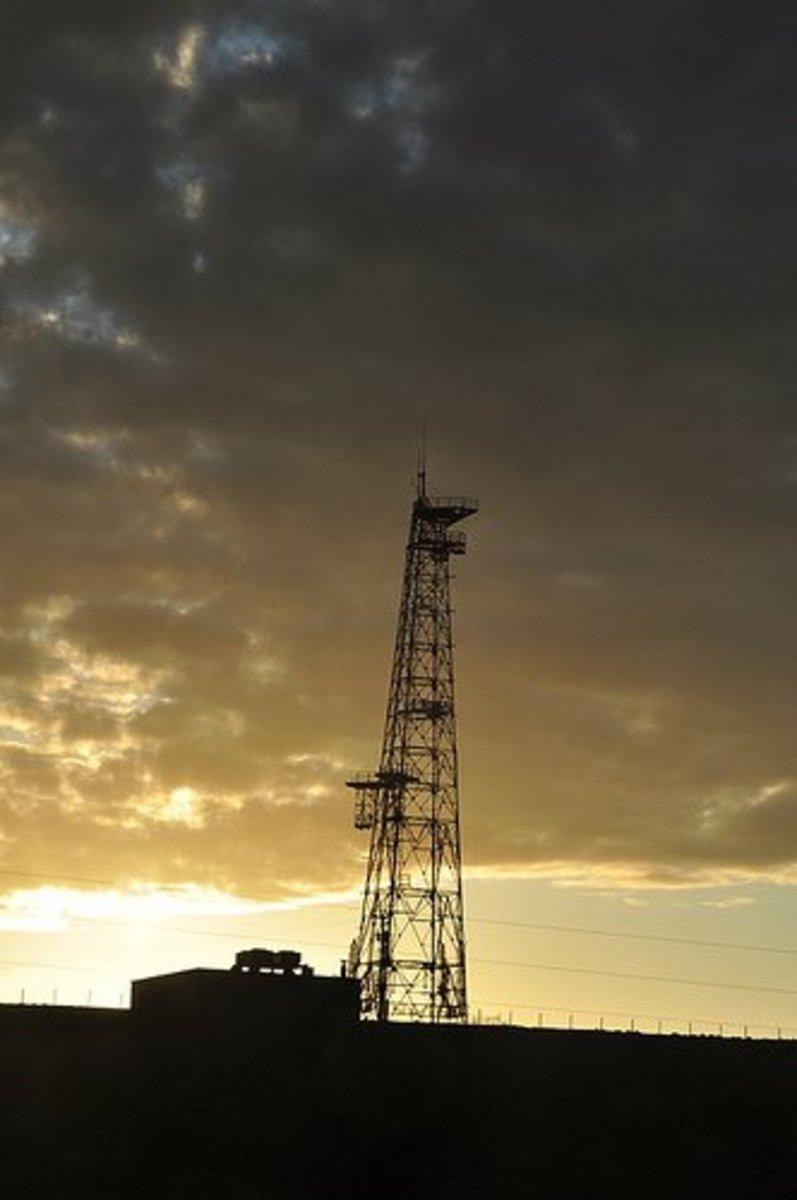An oil drill in Colorado