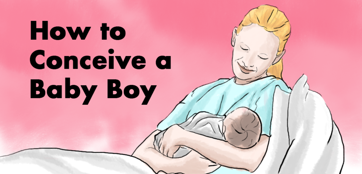 Three tips for how to conceive a baby boy.