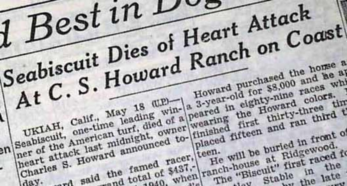 The Death of Seabiscuit