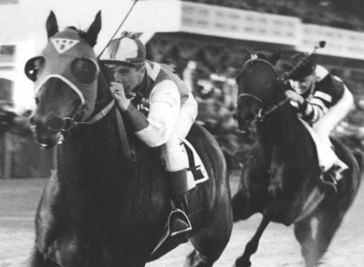 Seabiscuit with George Woolf vs. War Admiral