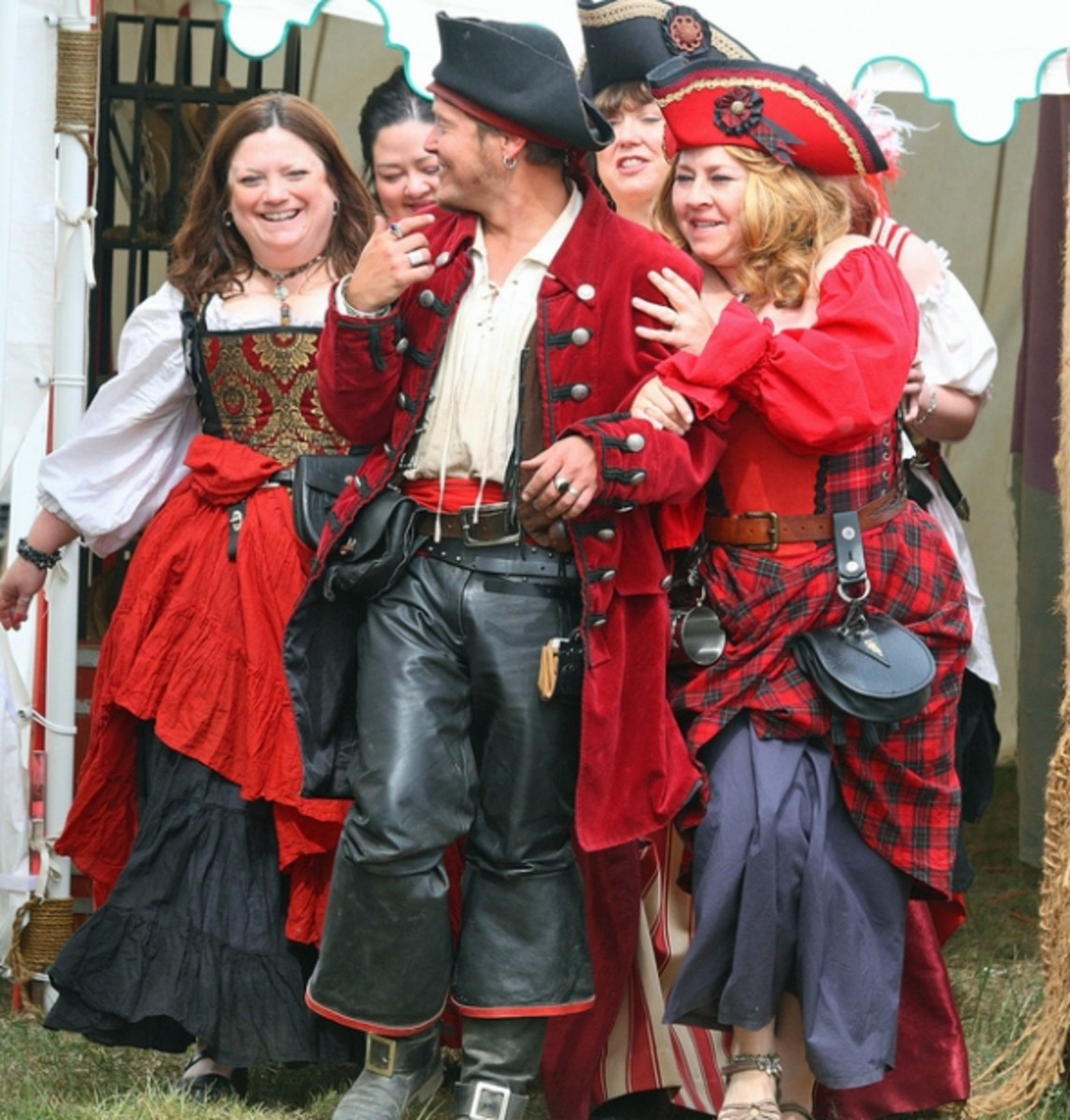 Hen Party Ideas For Small Groups: Group Fancy Dress Costume Ideas