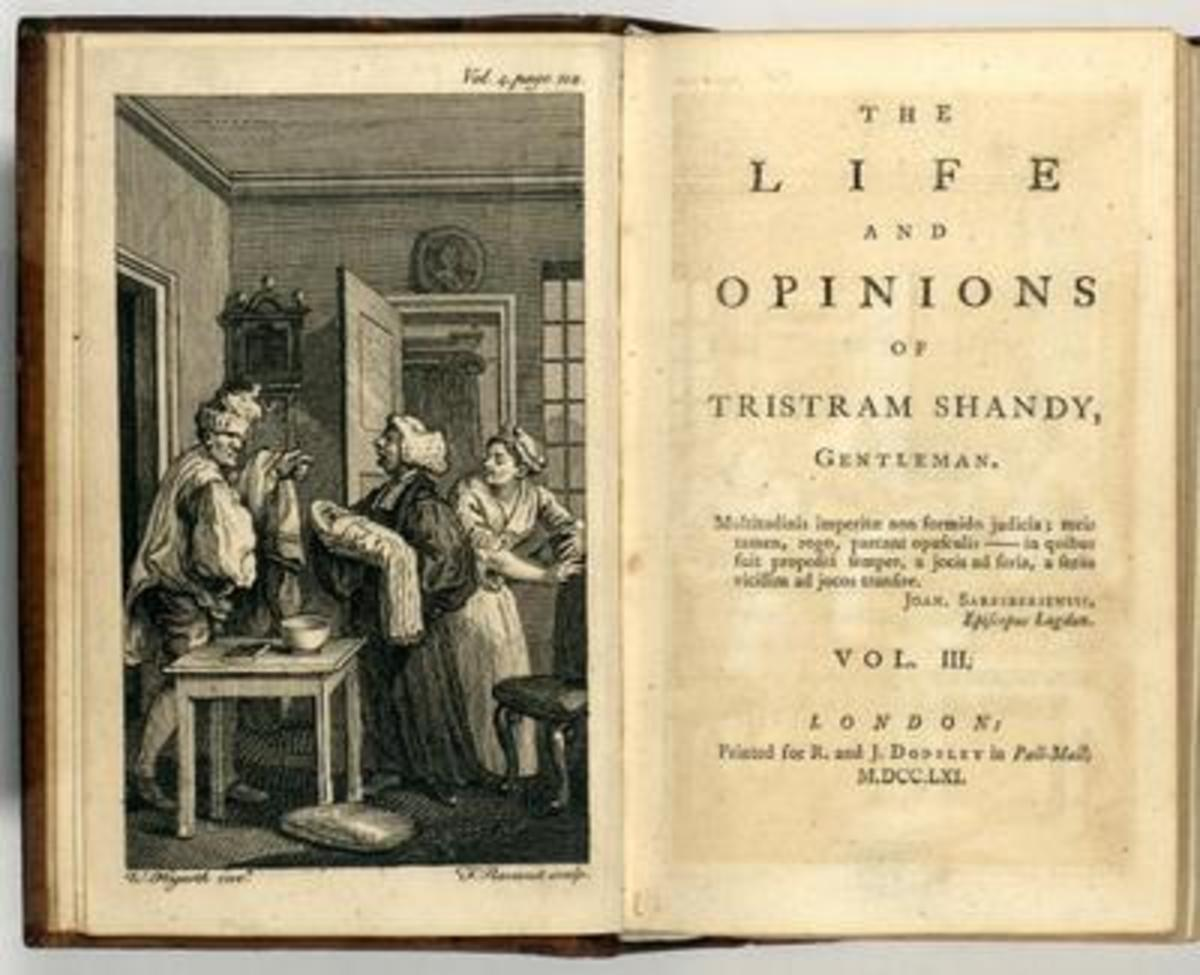 "The Body is Bawdy in Laurence Sterne's ""Tristram Shandy"""