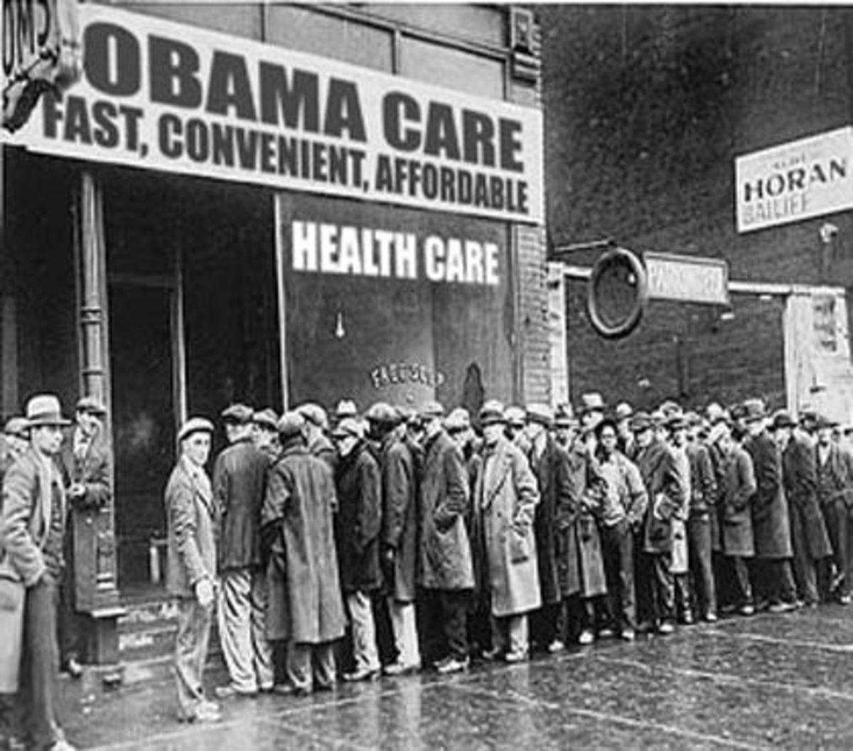 RATIONED HEALTH CARE PRODUCED LONG LINES