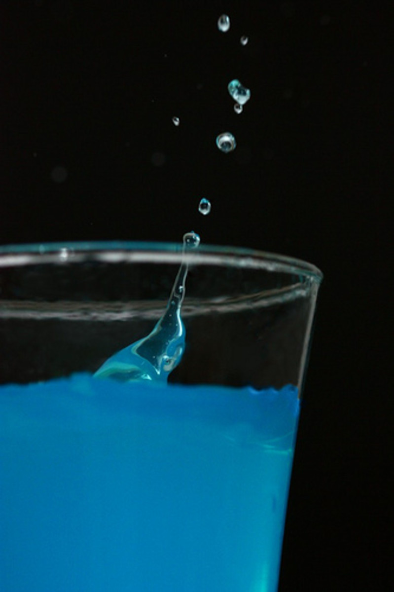 How to make a blue kamikaze drink Photo: Foto Fox @flickr