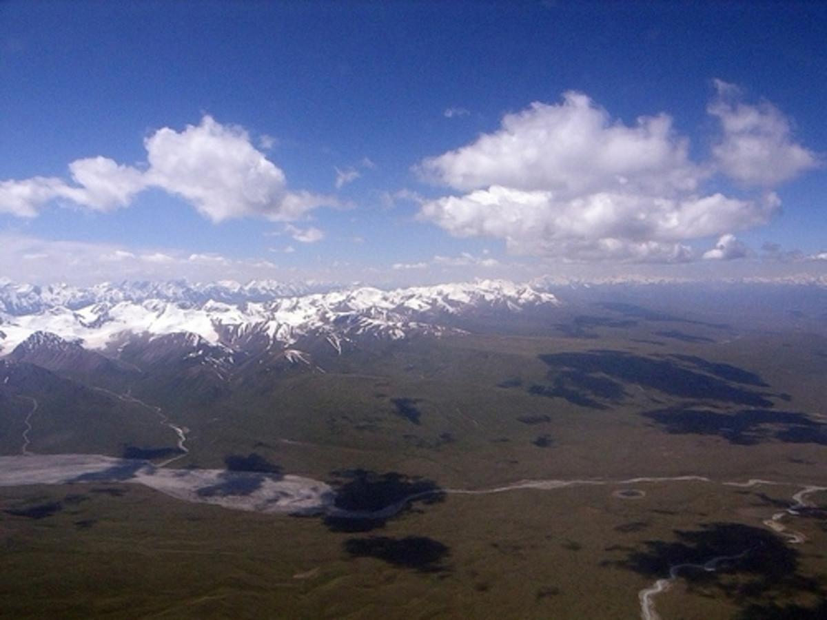 The Tien Shan Range