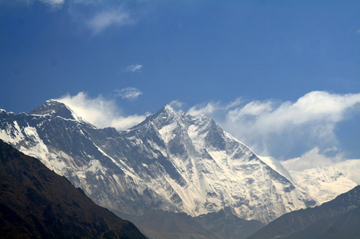 The Himalayan Mountain Range