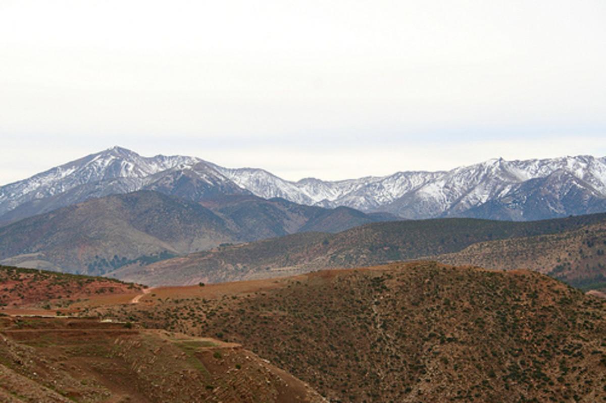 The Atlas Mountain Range