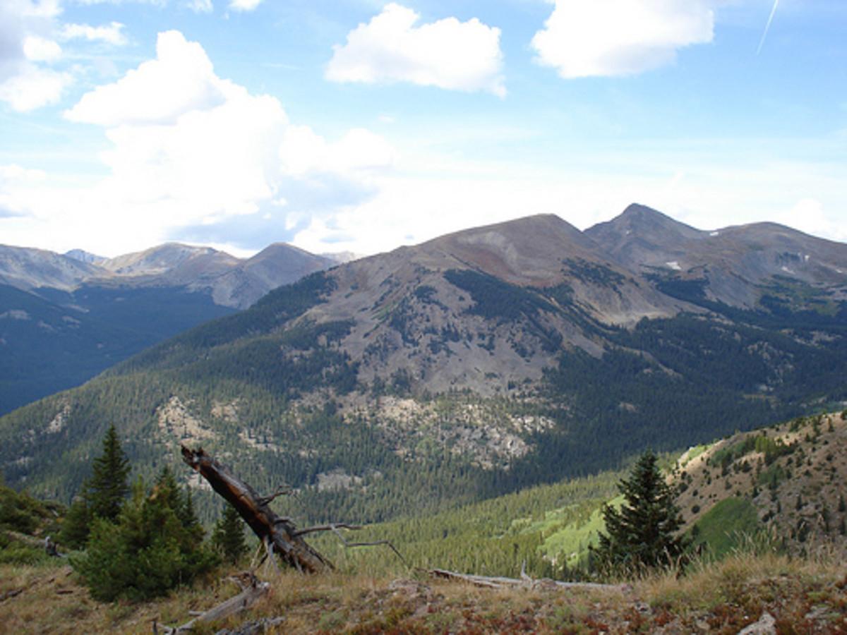 The Rocky Mountain Range