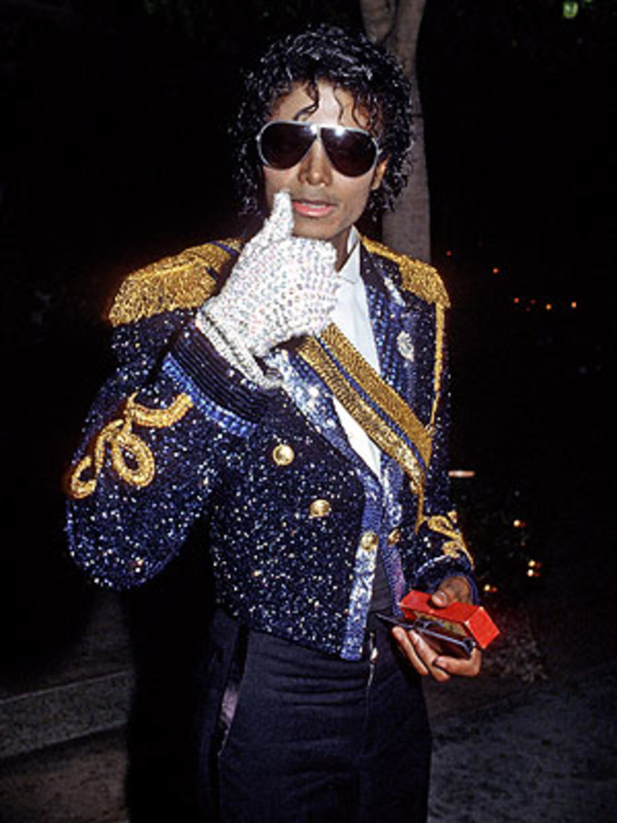 Sequined Military Jacket - 1984 Grammys