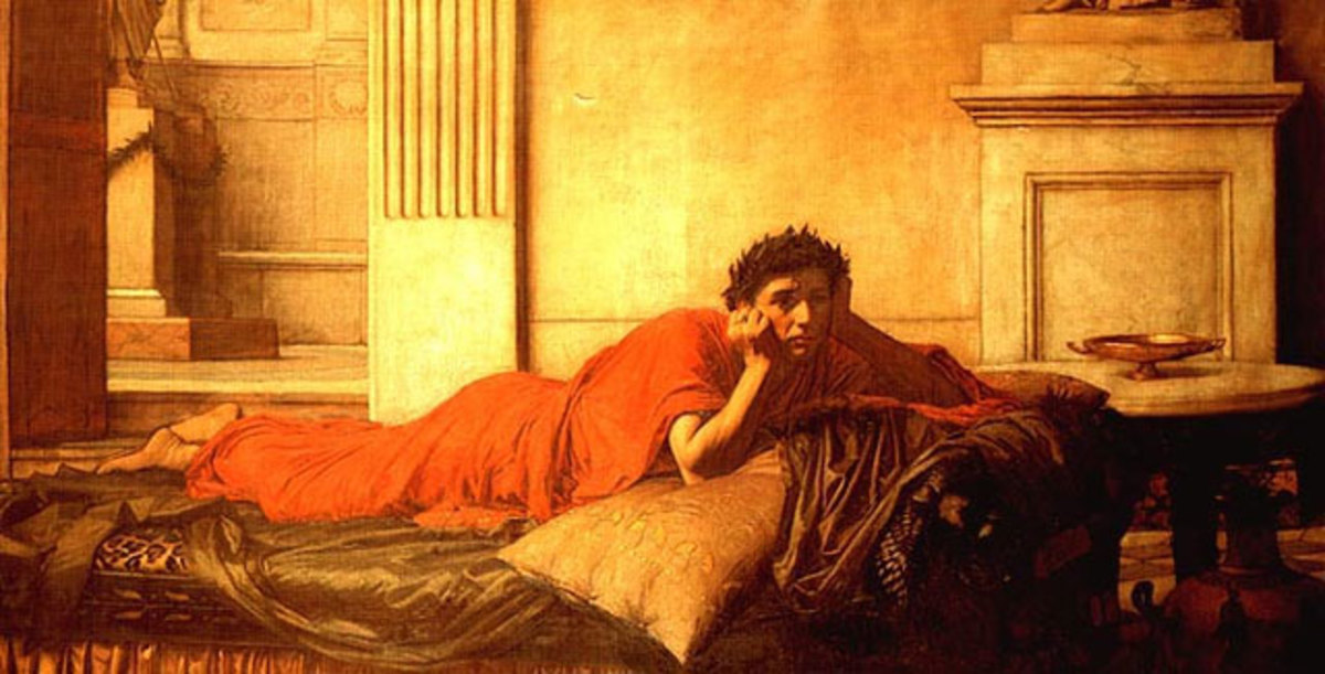 Emperor Nero felt so remorseful over murdering his wife that he burned a year's worth of cinnamon on her funeral pyre.