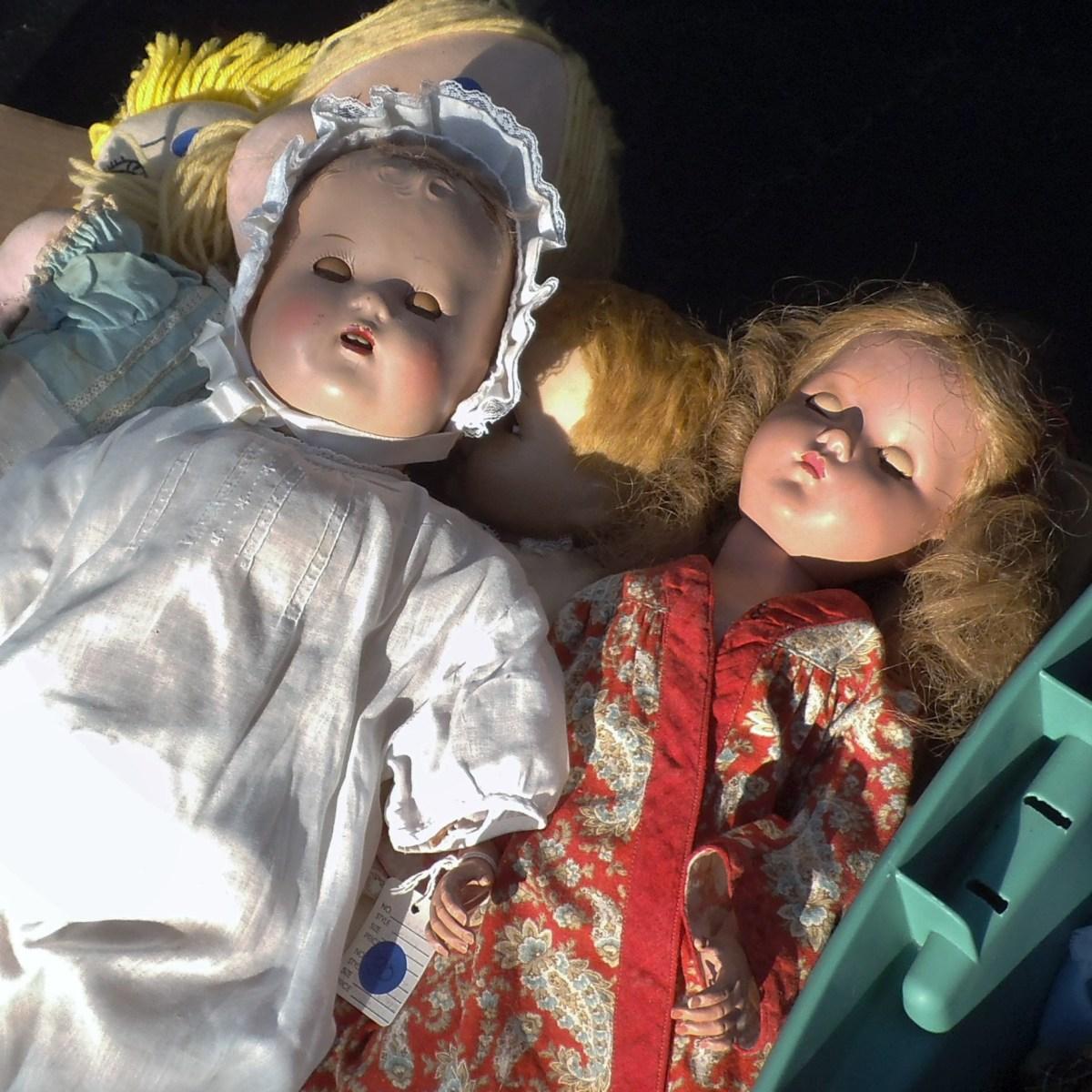 Vintage dolls.