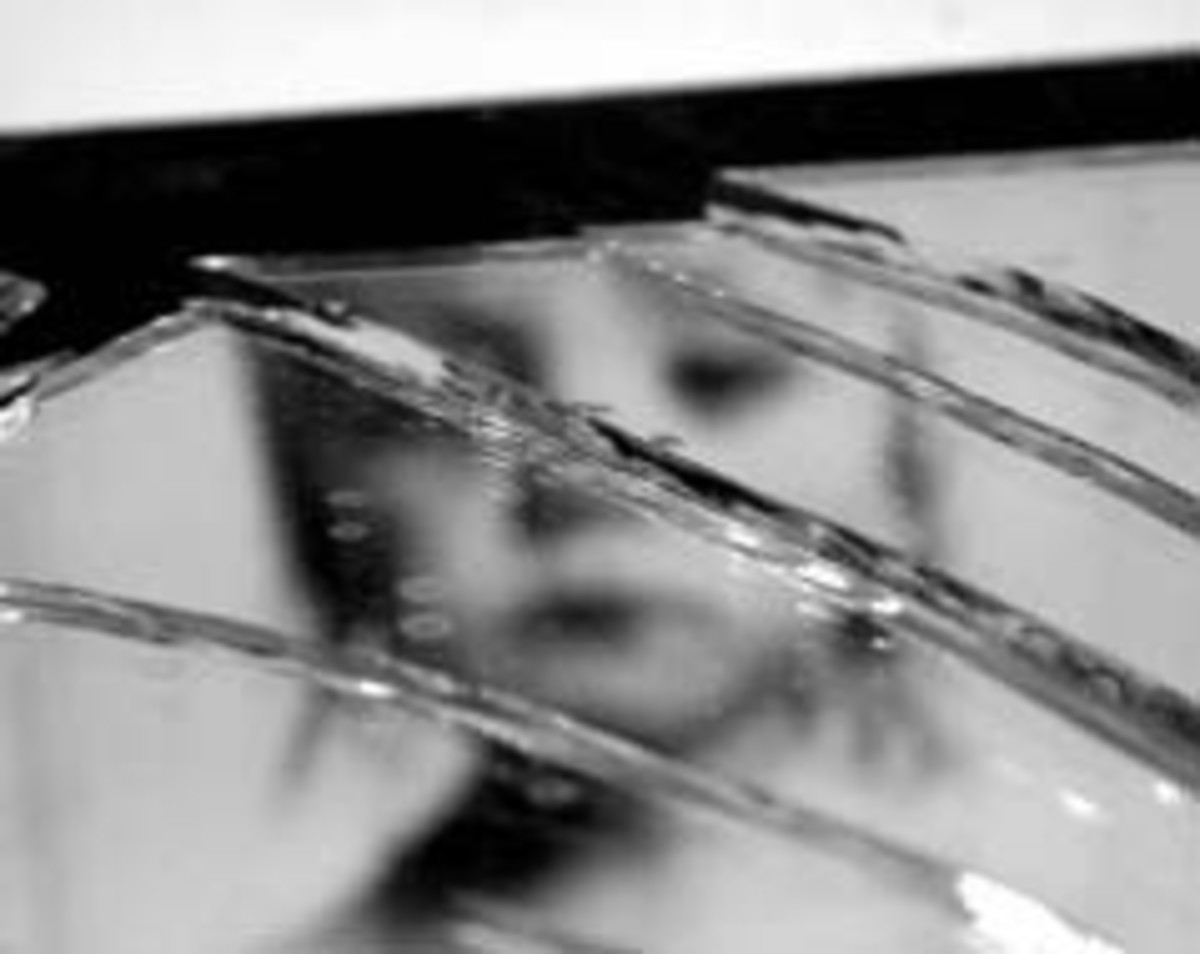 Abuse shatters lives, and those shattered lives tend to fall through the cracks.