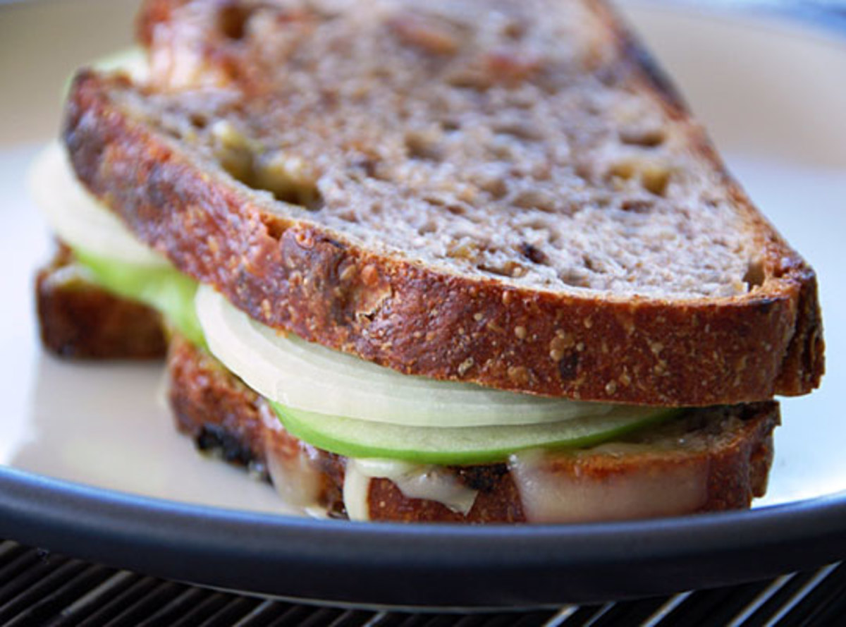 Granny Smith Grilled Cheese Sandwich
