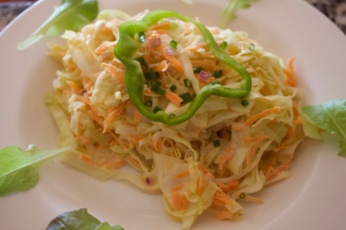 Cheesy Coleslaw