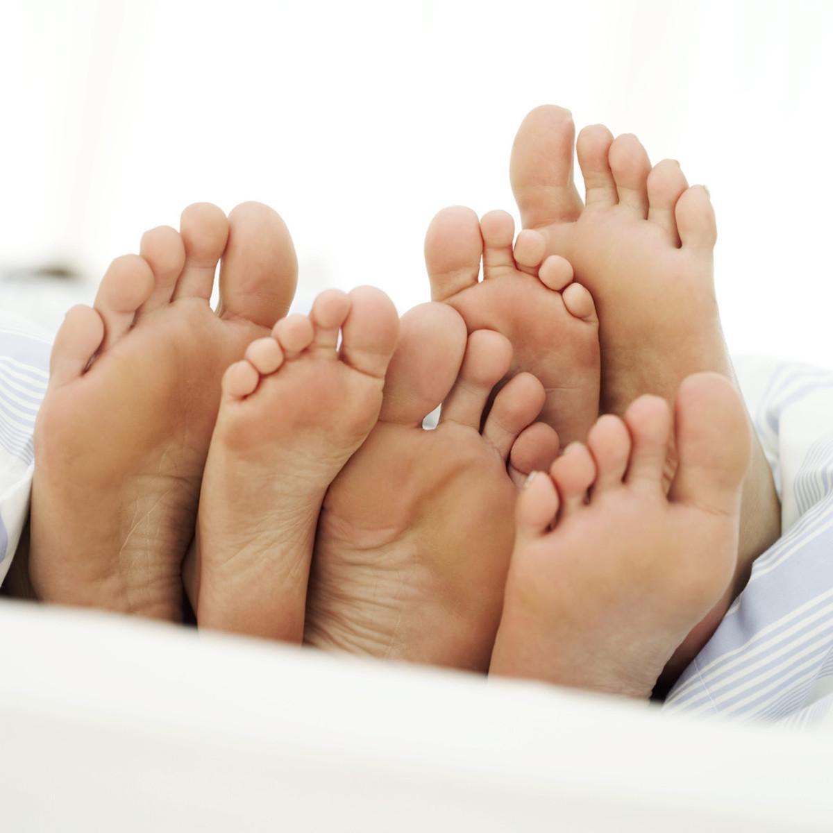 O, be careful little feet where you go!