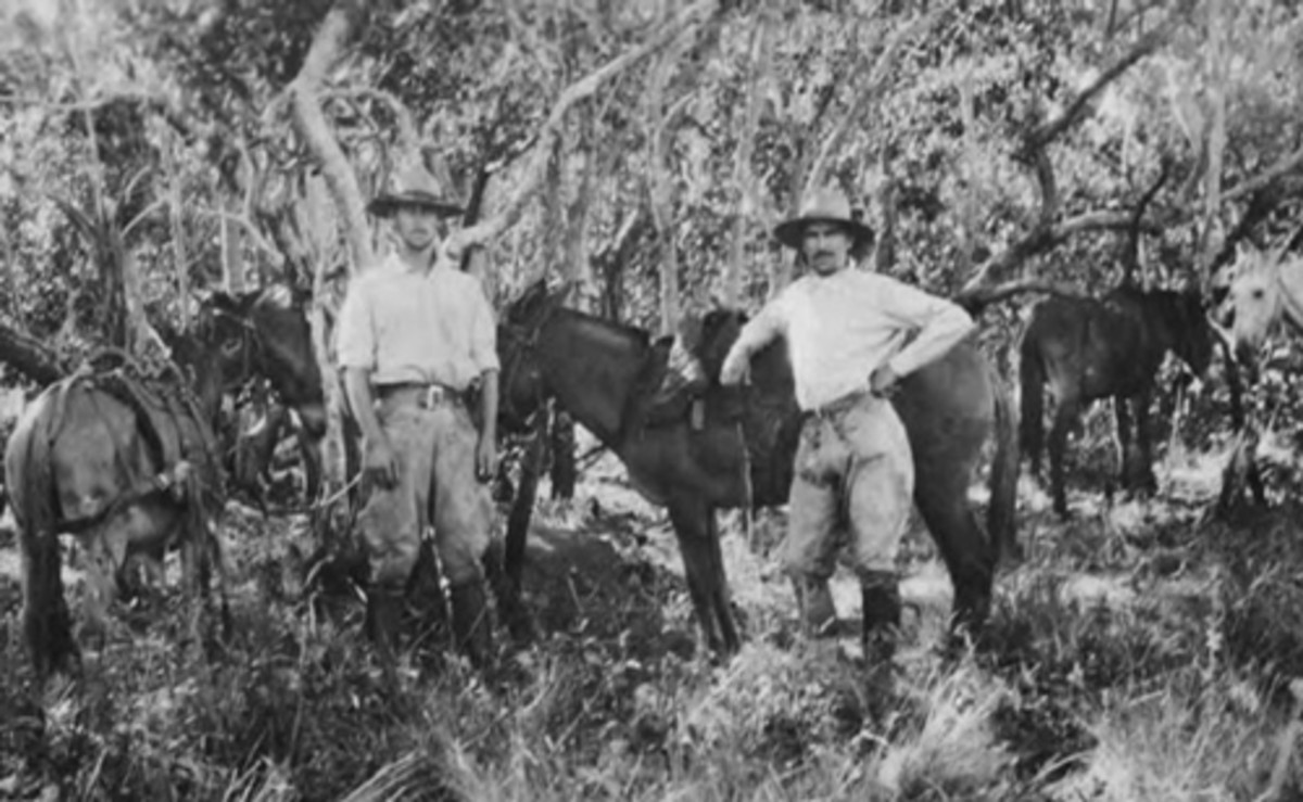 Fawcett on his first expedition to find Z in the Xingu Region
