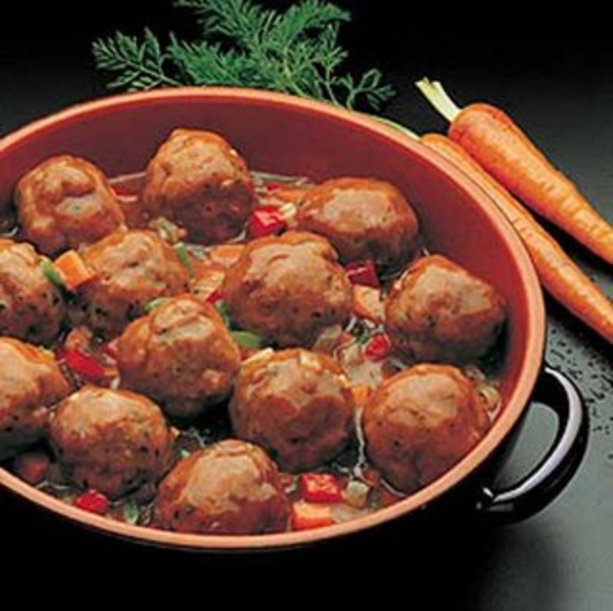 albondigas (meatballs) spanish tapas