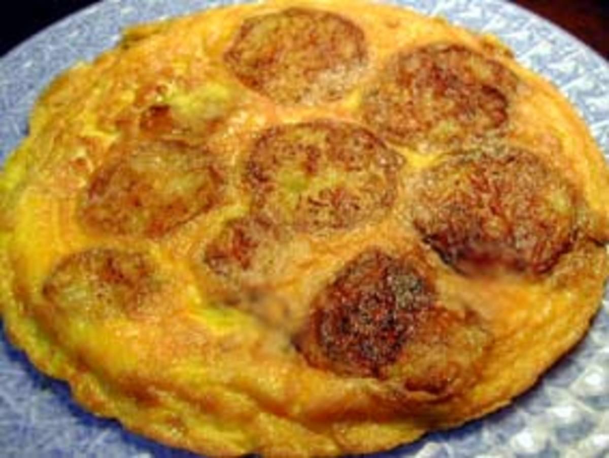 tortilla de bernjena (eggplant)