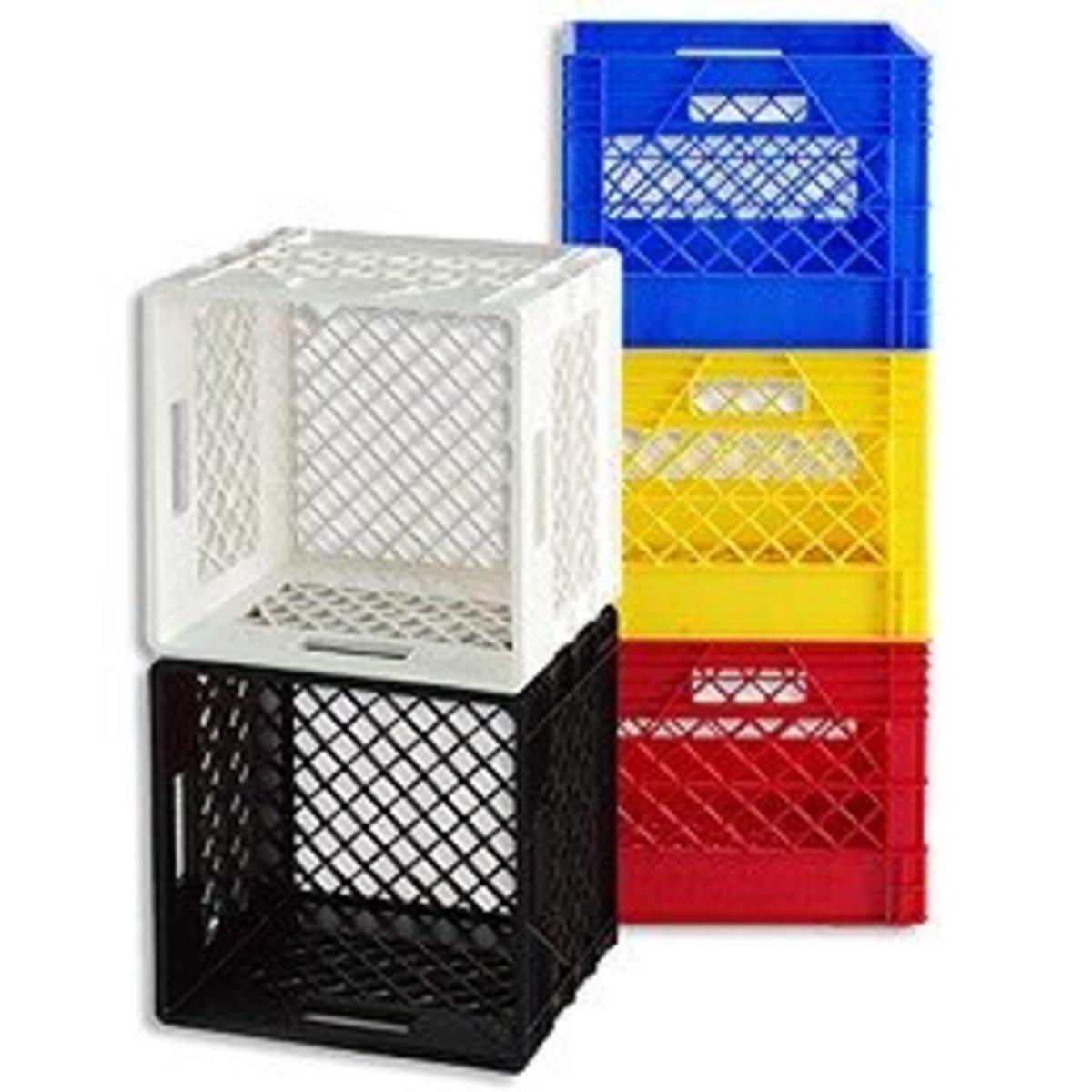 the cheapest furniture around milk crates