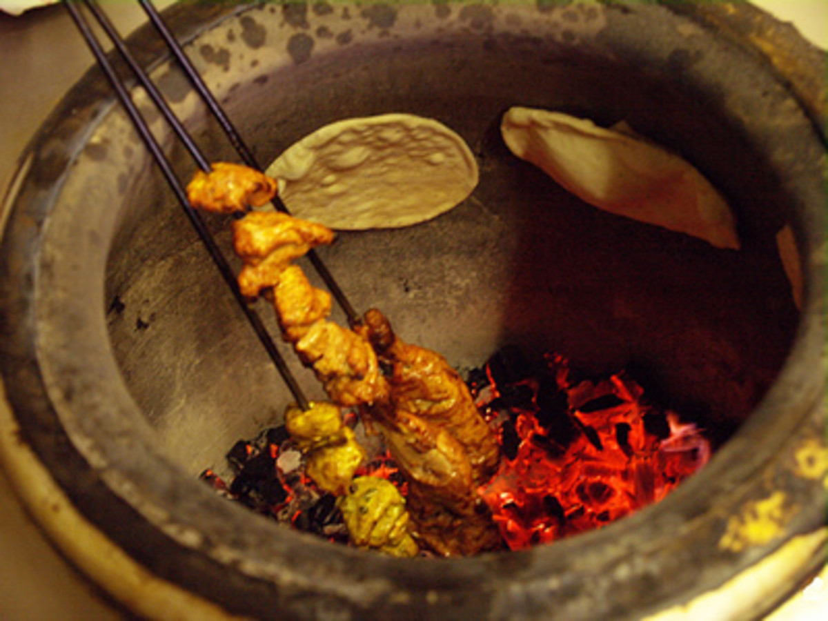 traditional tandoor oven