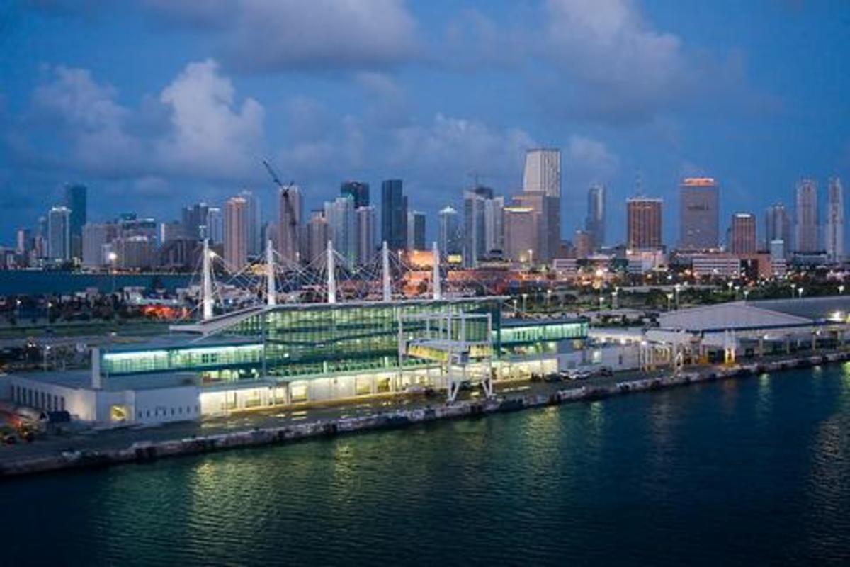 Cruise Terminal D, Miami Cruise Port