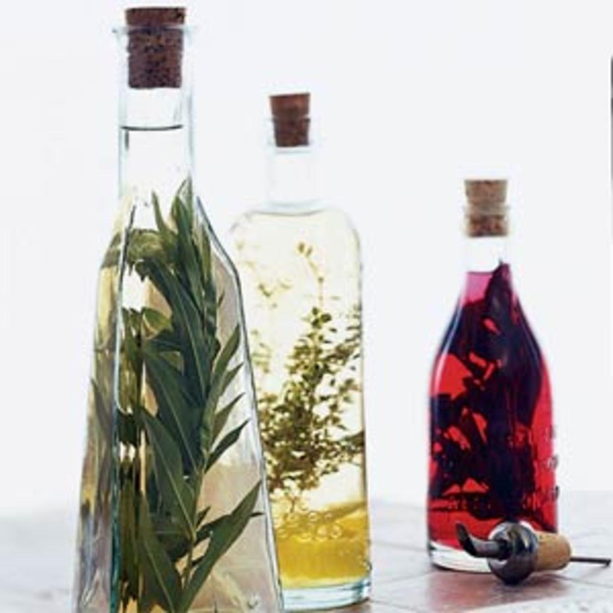 Homemade Basil Vinegar is one of the best tasting vinegars ever.