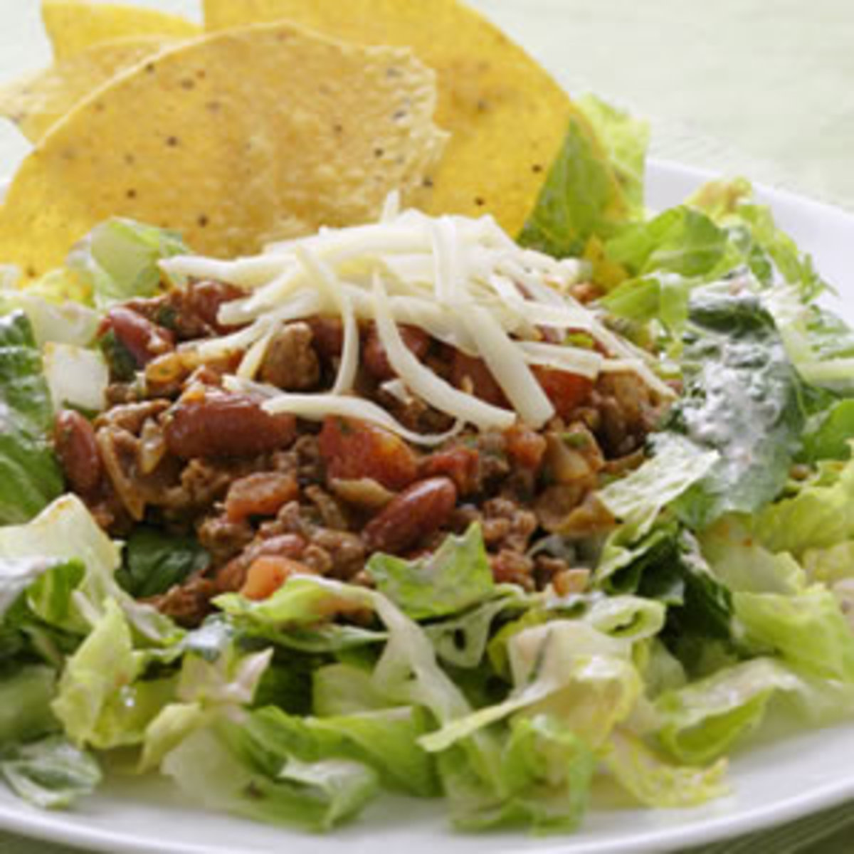 Taco and Kidney Bean Salad