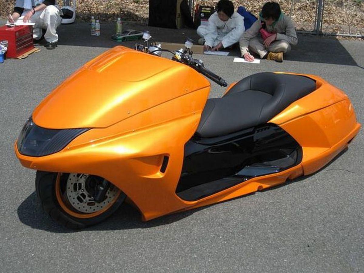 Modded Yamaha Maxam CP250