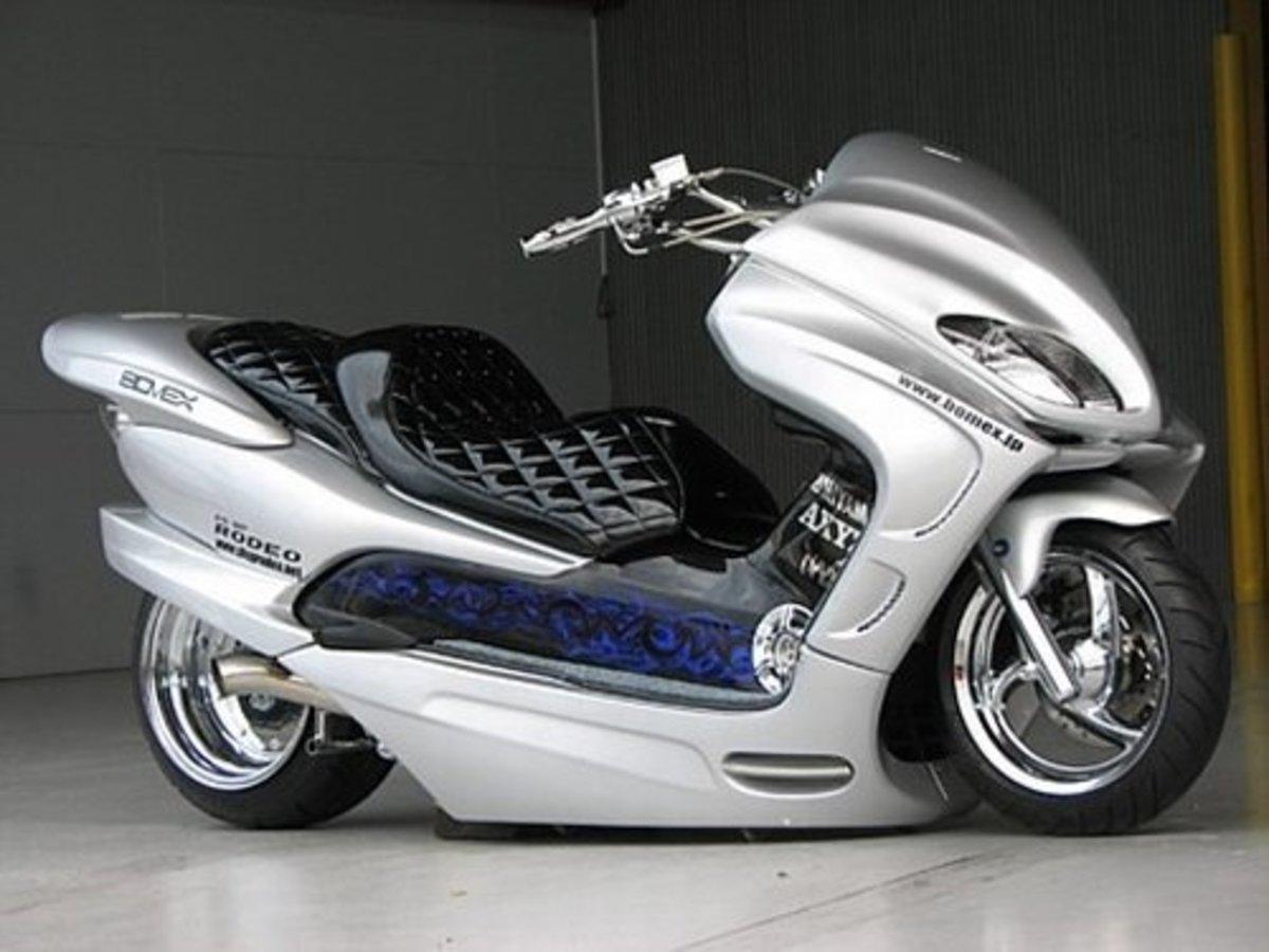 Modded Honda Forza