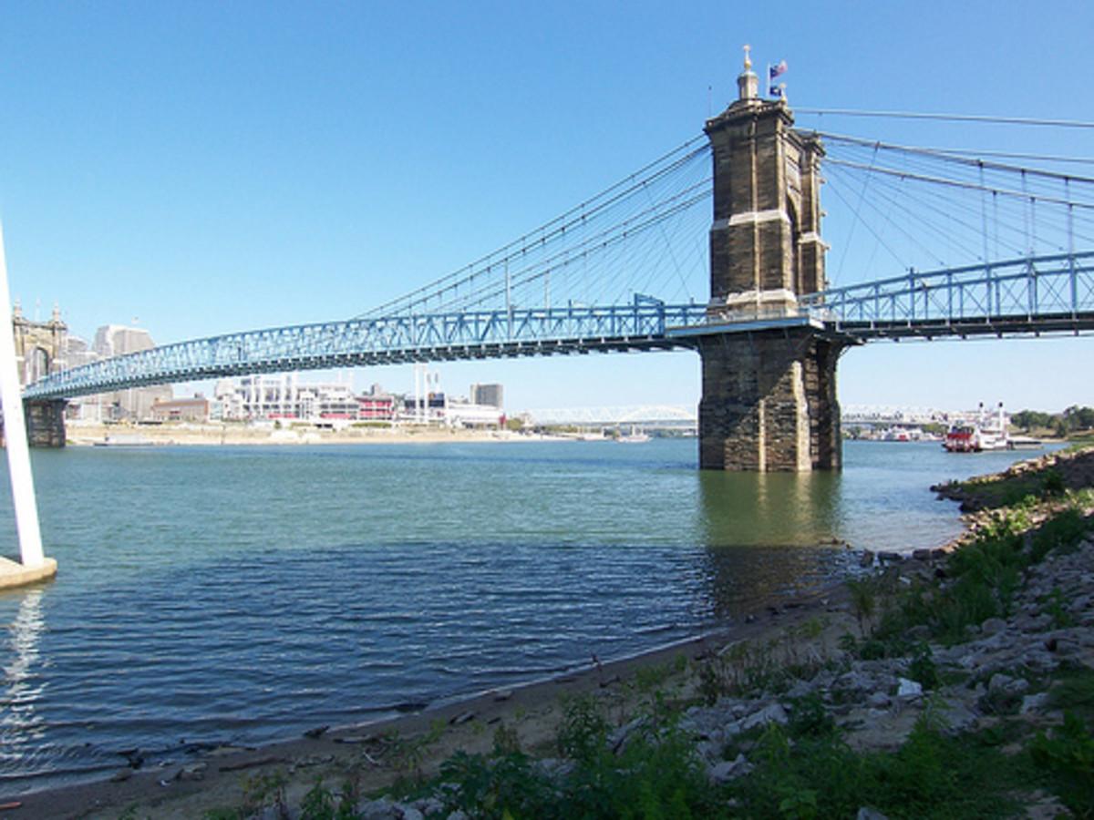 Roeblings Suspension Bridge.