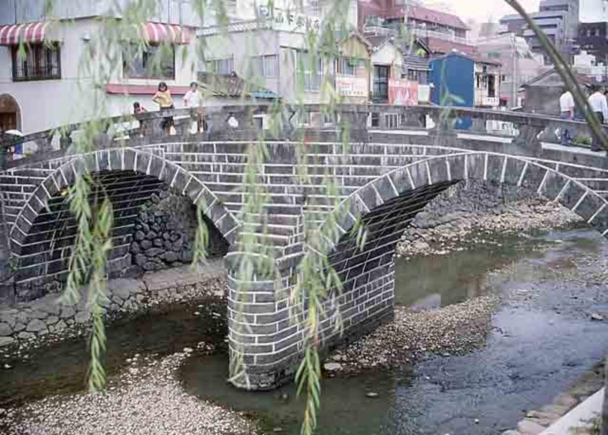 A stone Arch Bridge.
