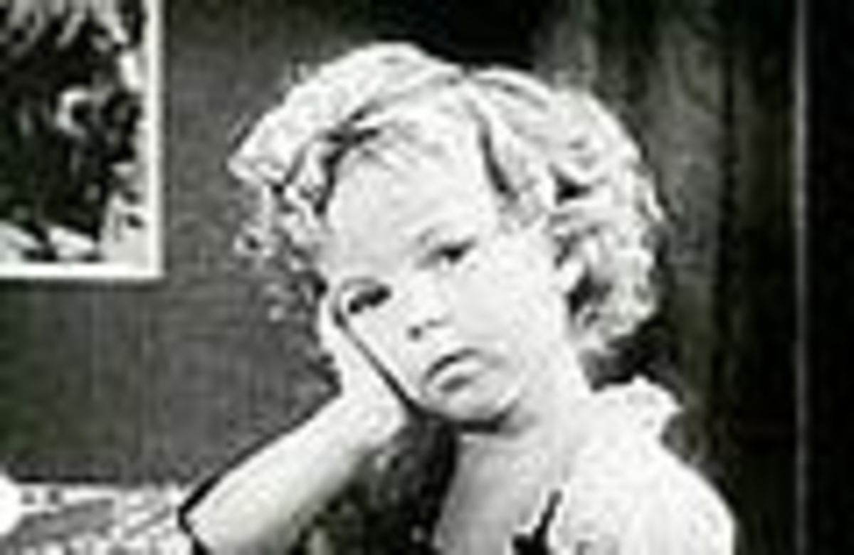 young Shirley Temple public domain