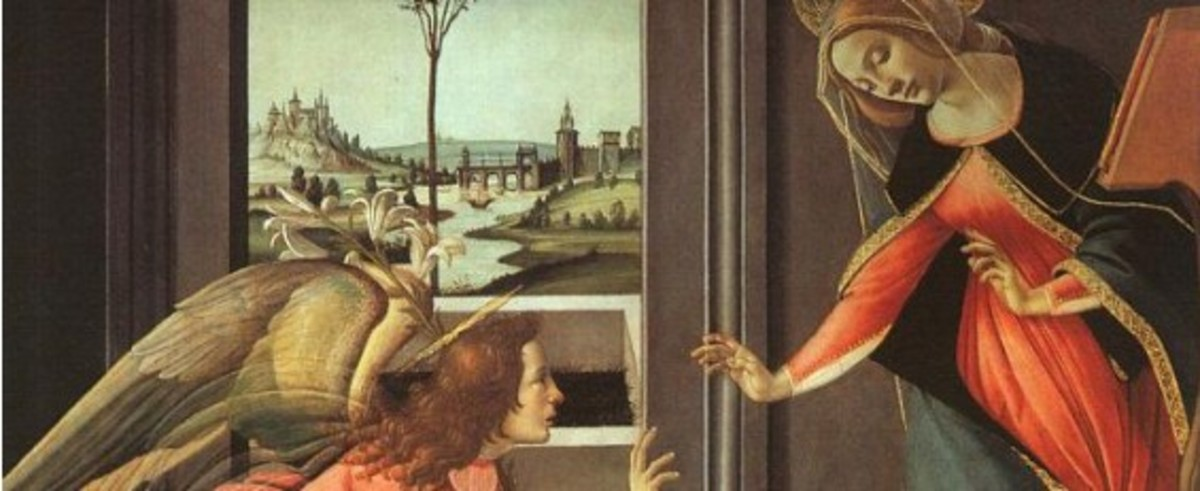 The Annunciation--The Visitation of the Angelic Messenger to Mary