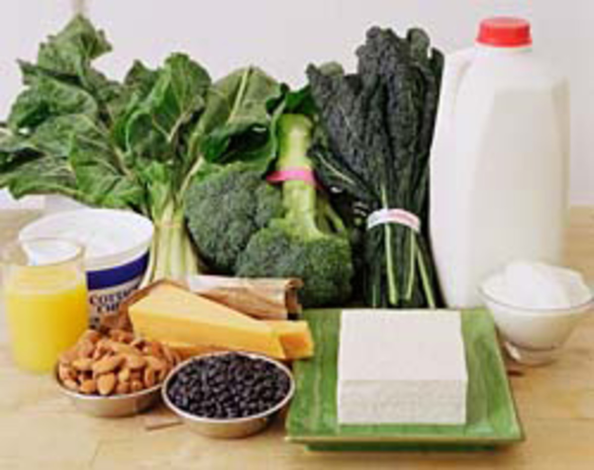Calcium rich foods to prevent osteoporosis