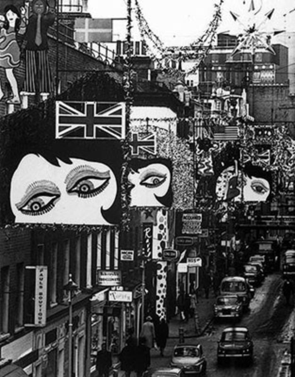 Carnaby Street in the 1960's