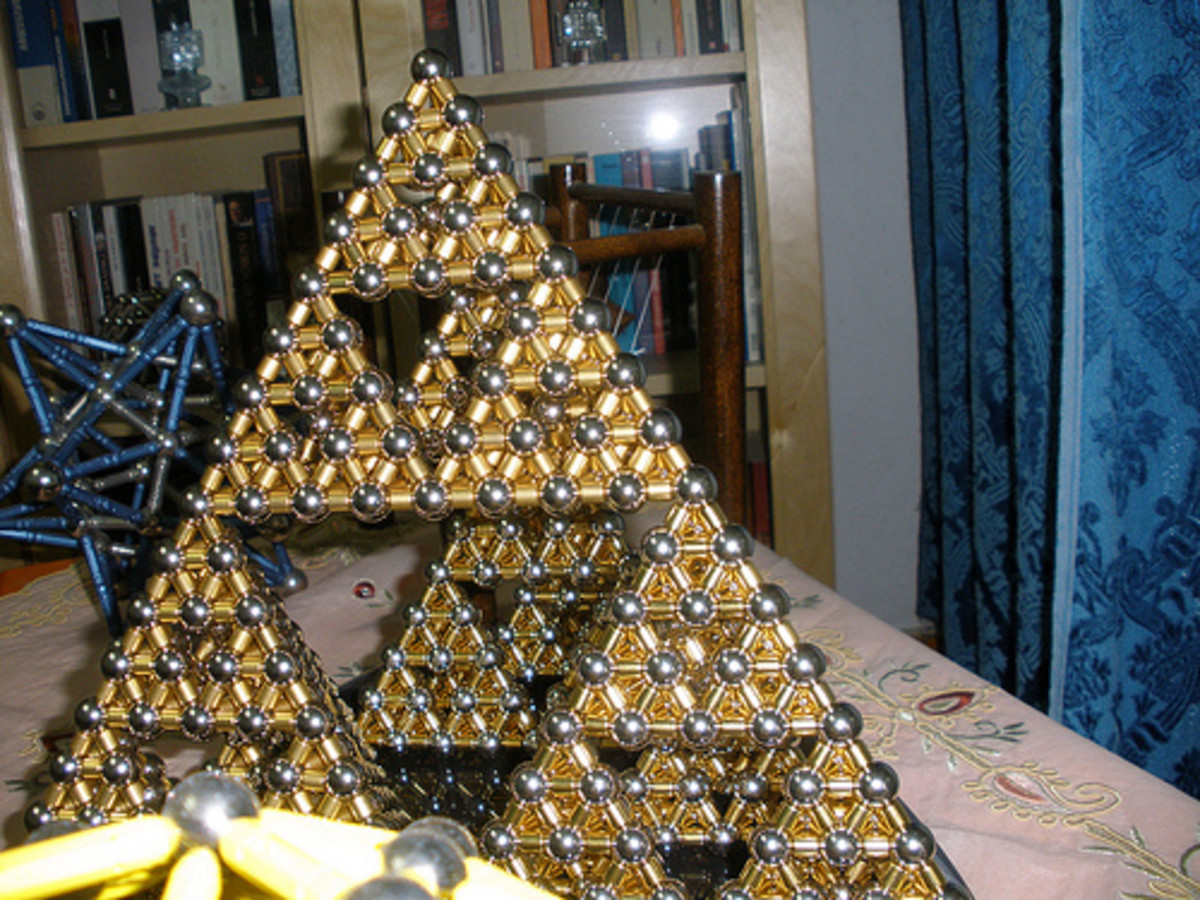 Here is an actual Sierpinski triangle that could conceivably be used as a separate energy harvesting antenna.