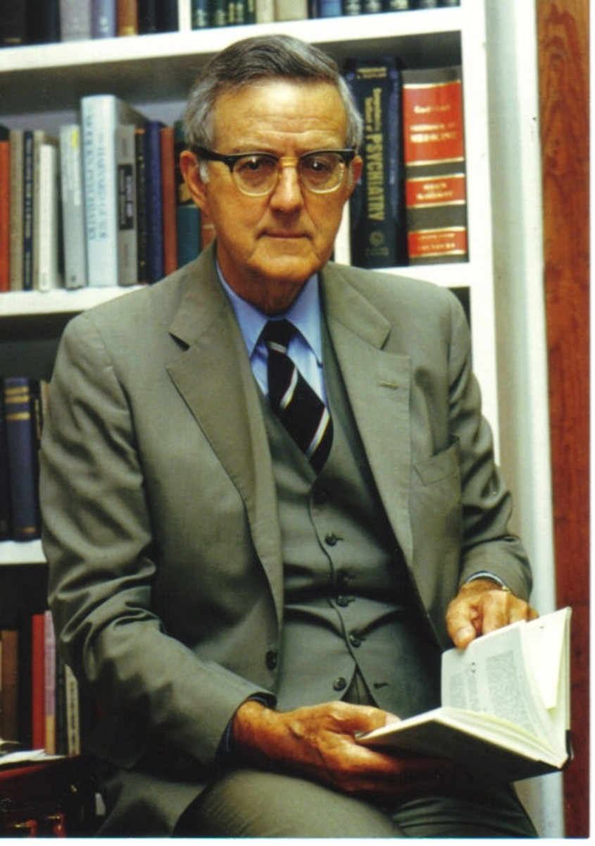 The late Dr. Ian Stevenson of the University of Virginia