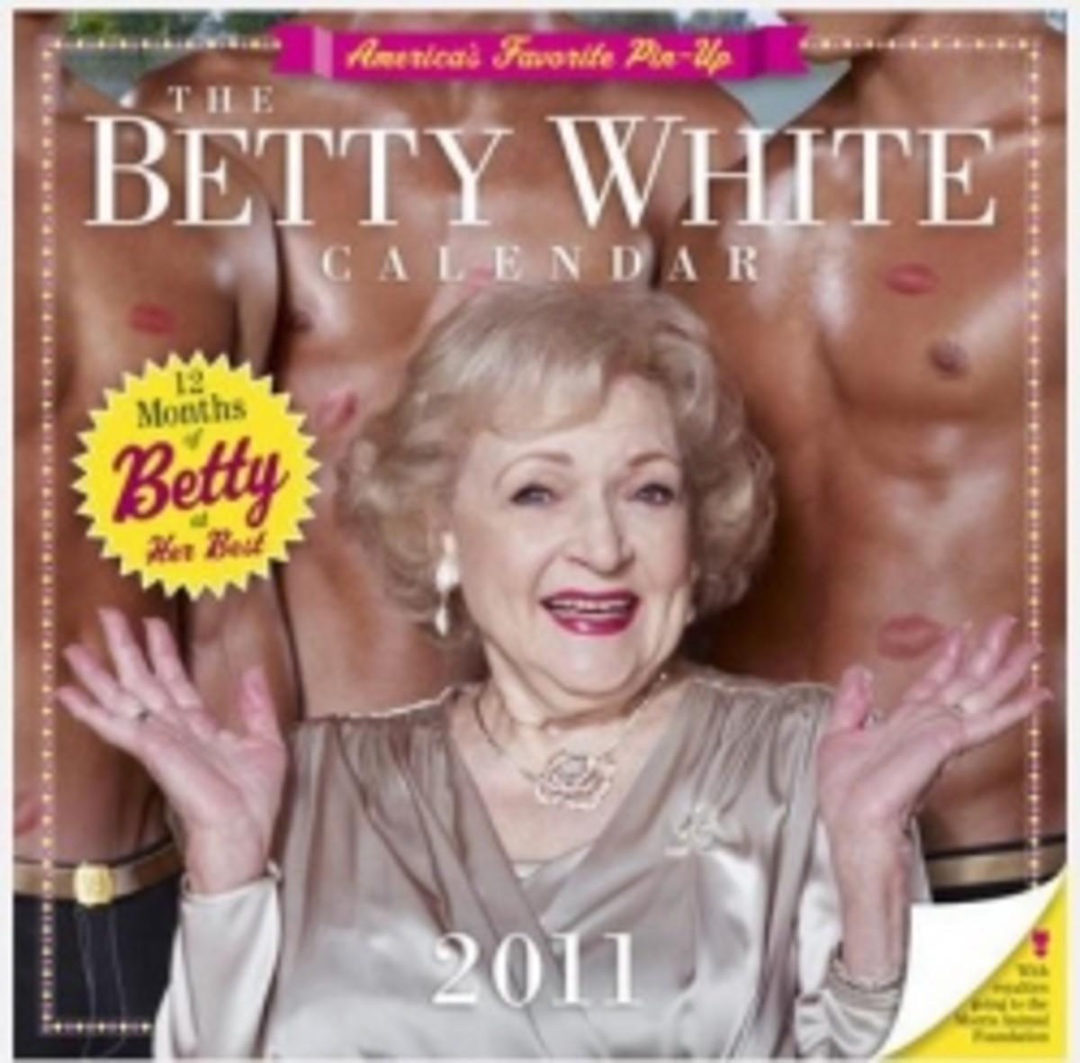 Betty White Calendar Cover