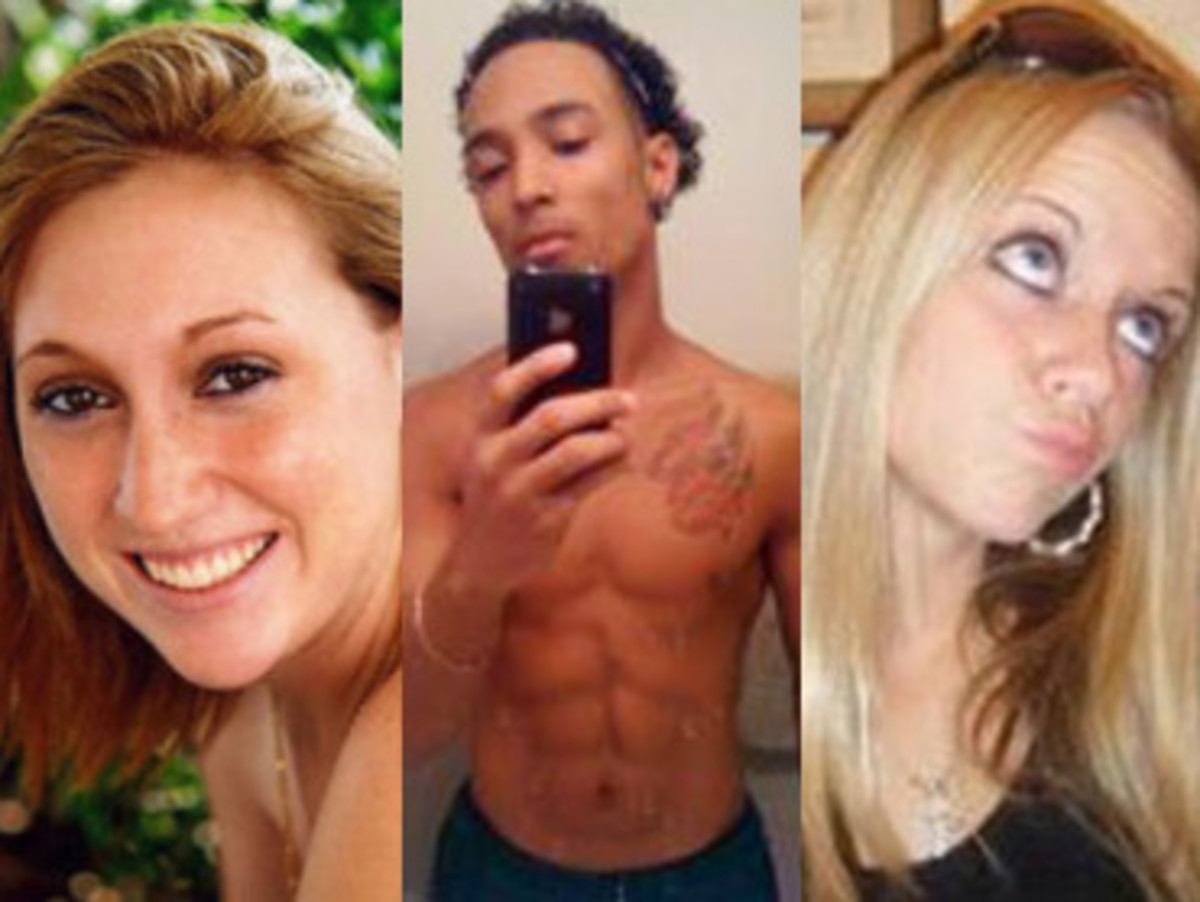 L to R Sarah Ludemann,  Joshua Camacho,Rachel Wade  from cbsnews.com