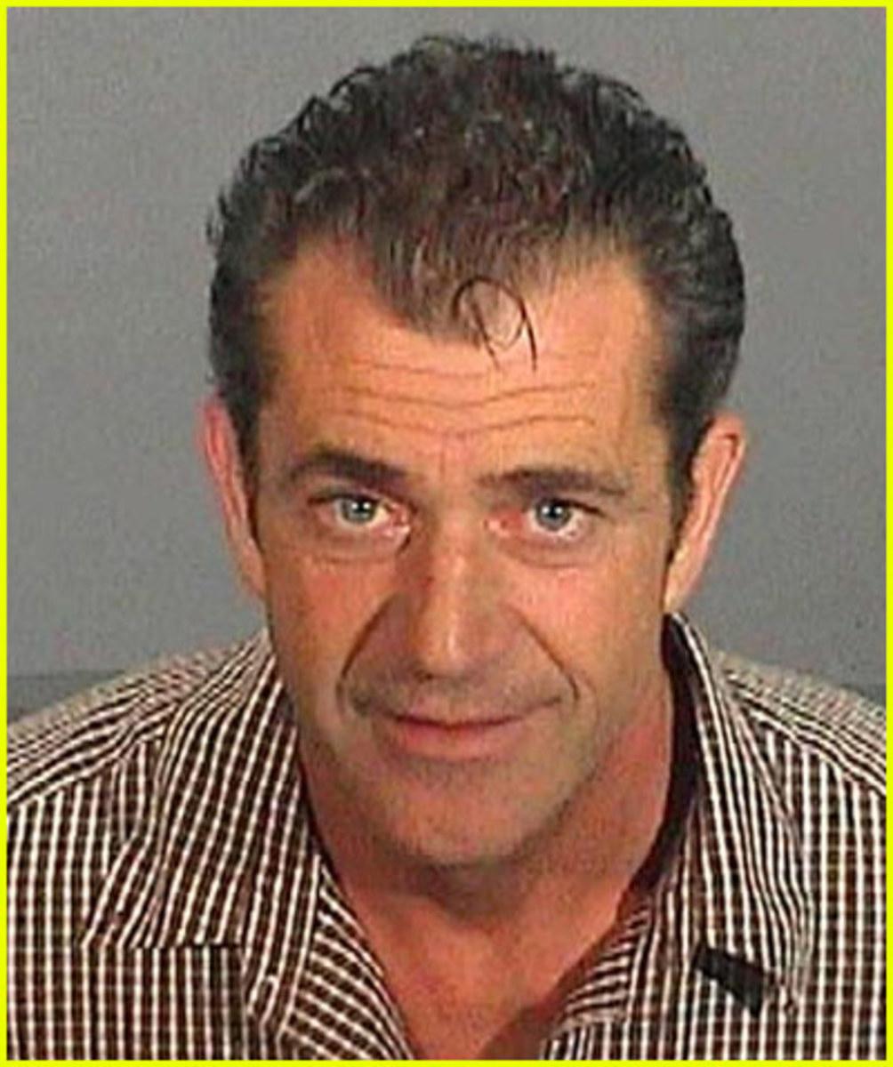 Mel Gibson - Major Douche Bag.