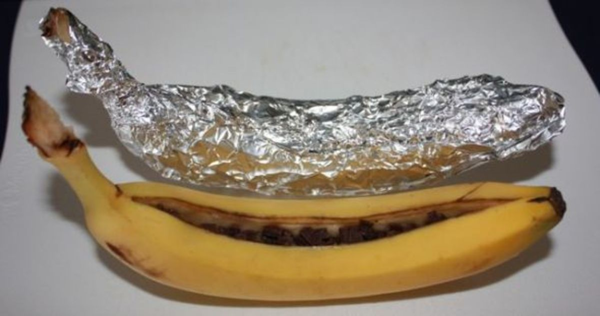 Chocolate Banana Boat