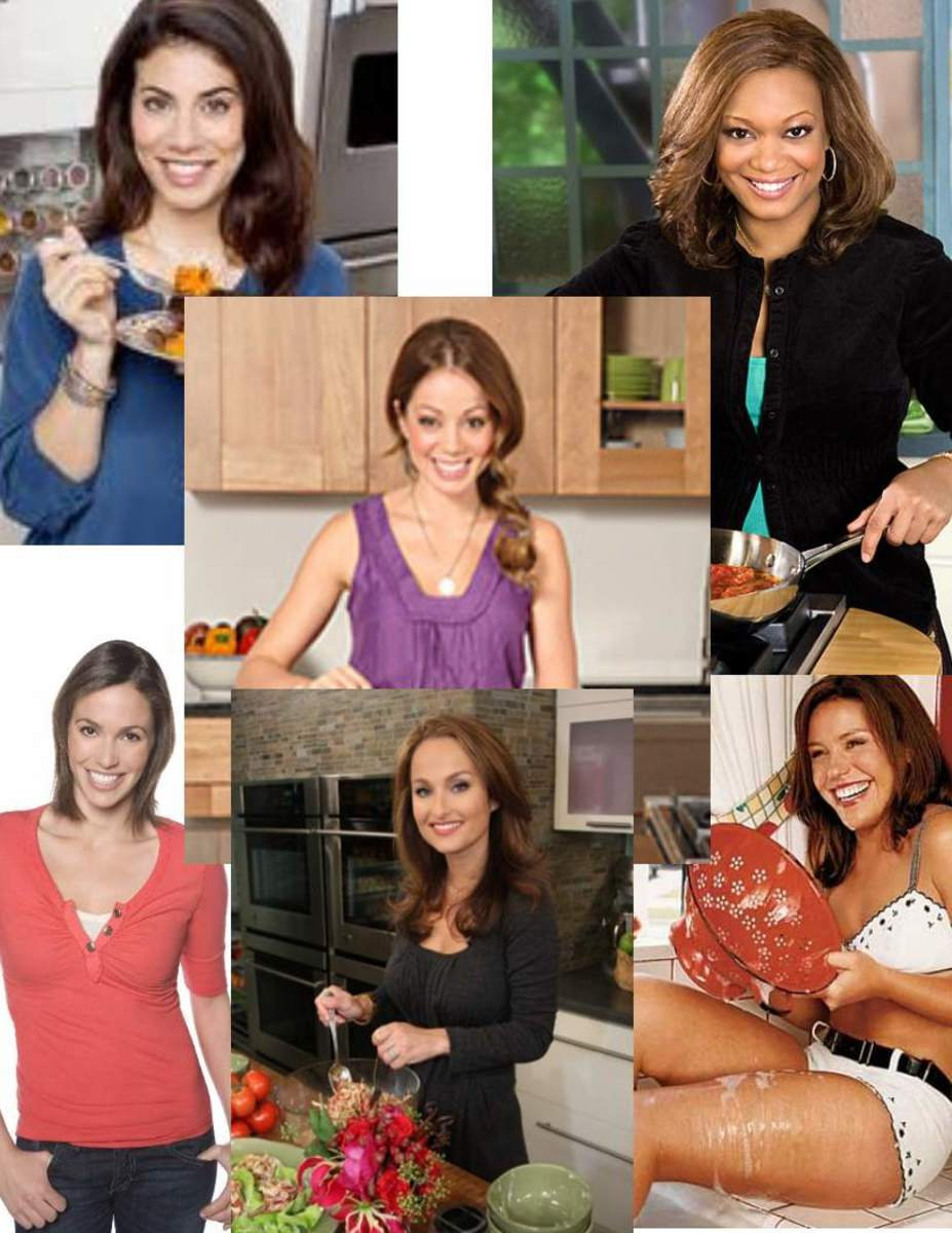 The Sexiest Female Chefs On The Food Network