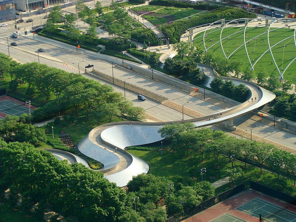 A modern Beam Bridge.