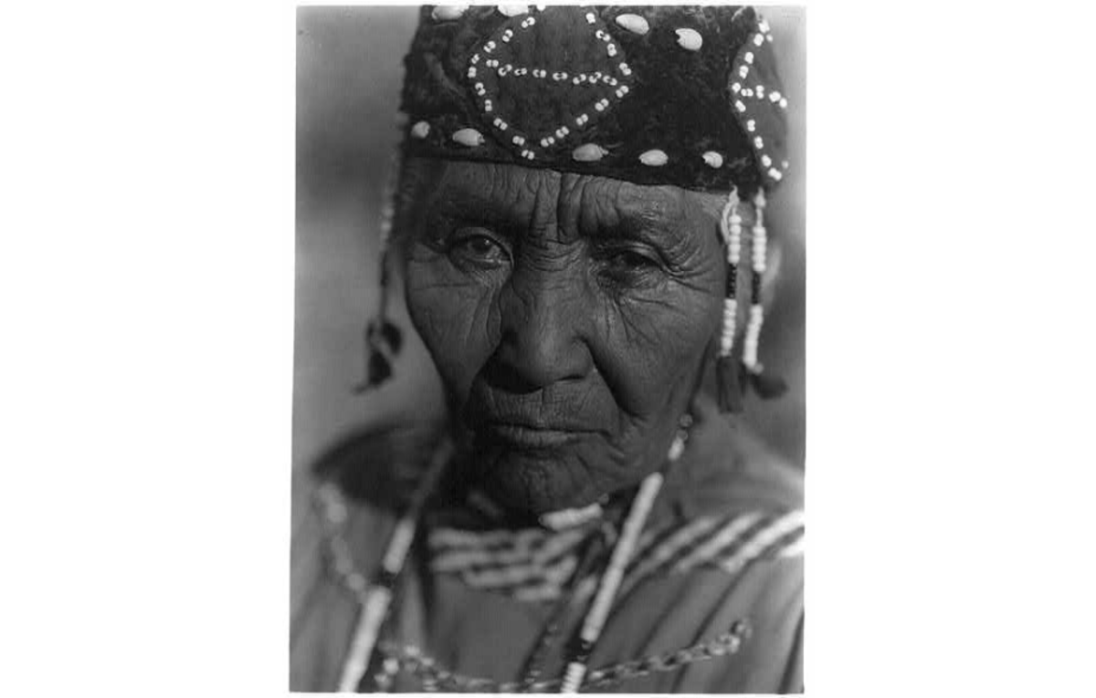 Wife of Modoc Henry by Edward S. Curtis, 1923
