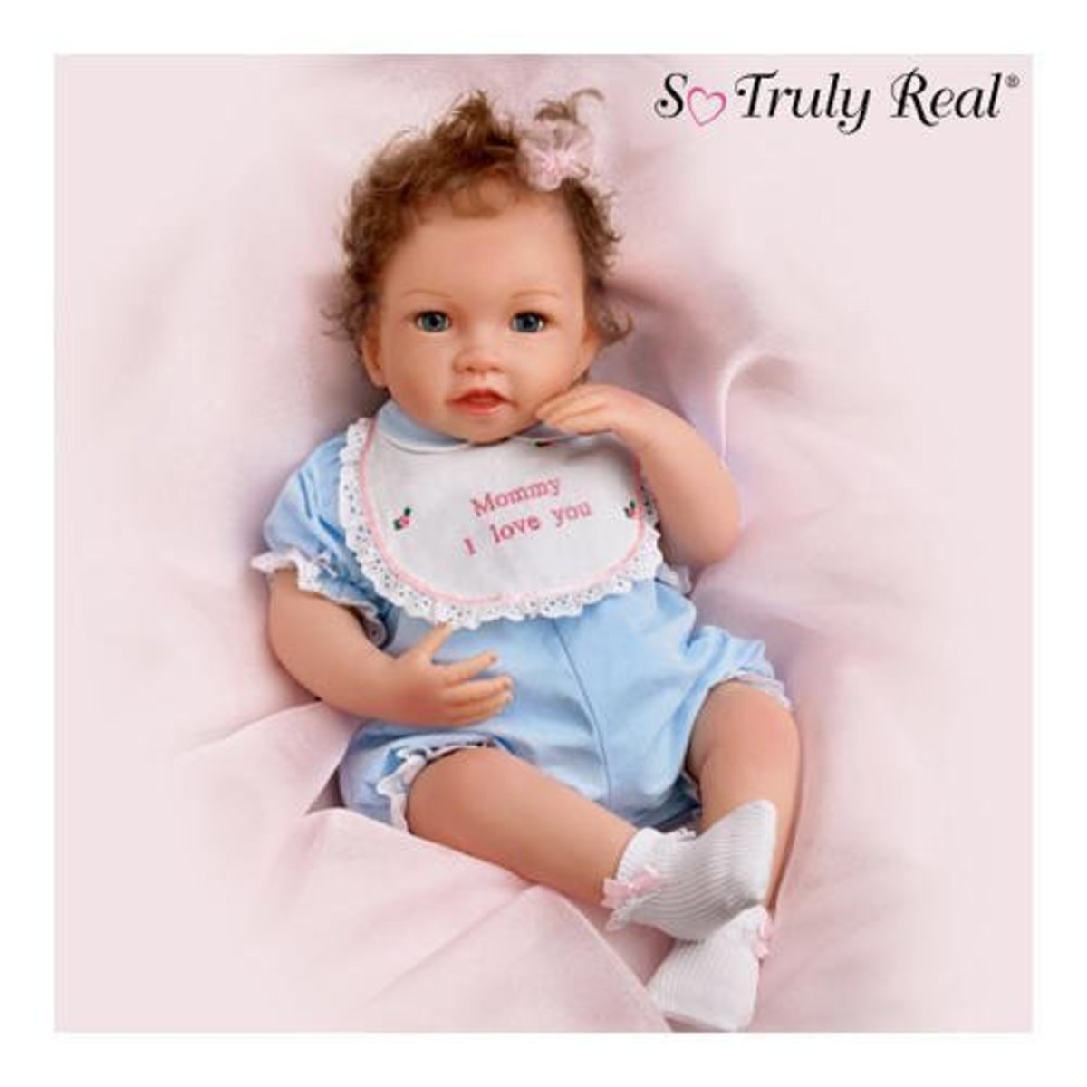 This is one of the realistic dolls available.
